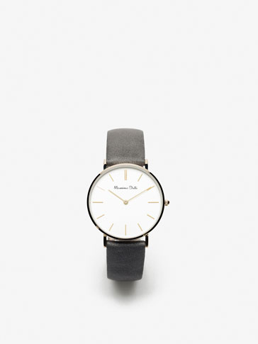 GOLDEN MESH TRIPLE STRAP WATCH
