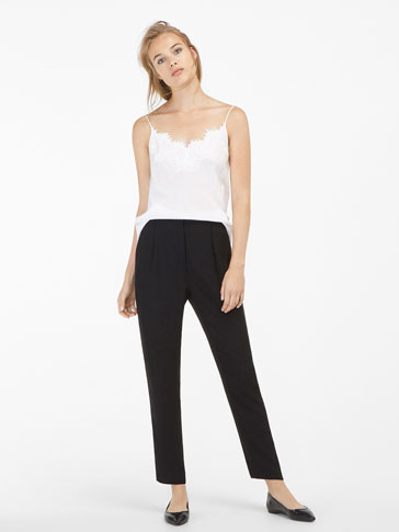 SMART FLOWING TROUSERS