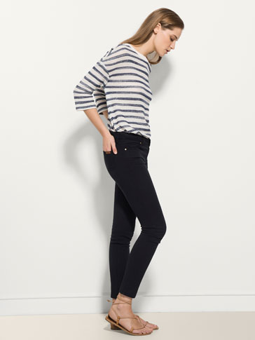 TEXTURED WEAVE TROUSERS