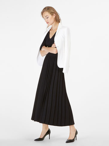 PLEATED SMART TROUSERS