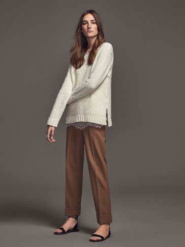 PANTALON COULEUR CAMEL LIMITED EDITION