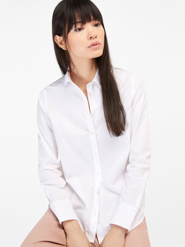 FALSE PLAIN CHECKED COTTON SHIRT
