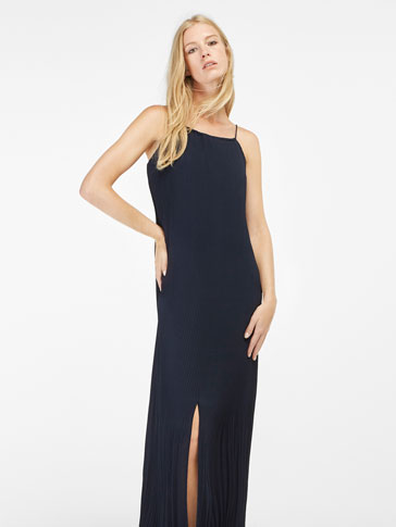 LONG NAVY BLUE DRESS