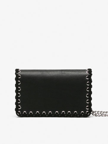 LARGE CROSSBODY BAG WITH STITCHING DETAIL