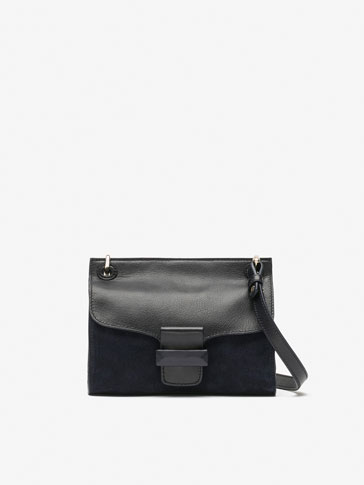 SMALL CONTRASTING CROSSBODY BAG