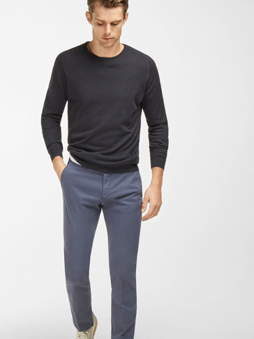 REGULAR FIT COLOURFUL CHINOS