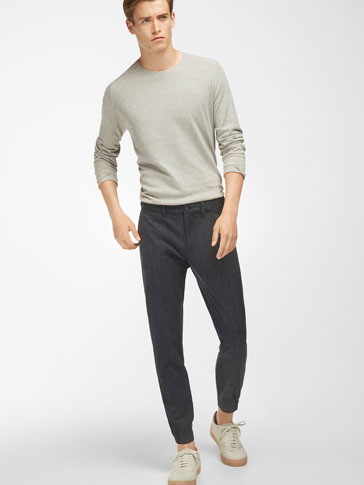 MELANGE JOGGING TROUSERS