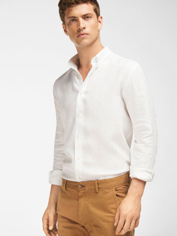 CAMISA LINO SLIM FIT