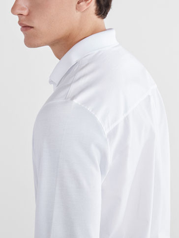 SOFT PLAIN CONTRAST POLO SHIRT