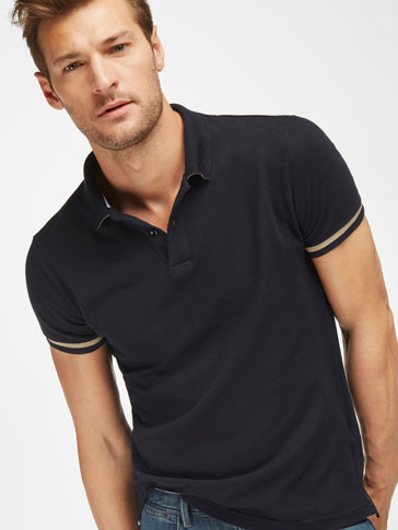 POLO COLOR LISO SLIM FIT