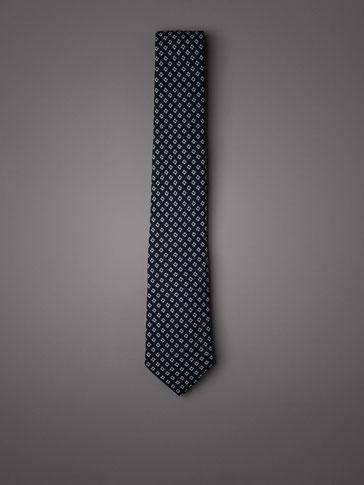 ربطة عنق برسم هندسي اصدار محدود