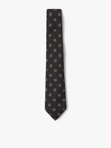 DOUBLE CHECKED SILK TIE