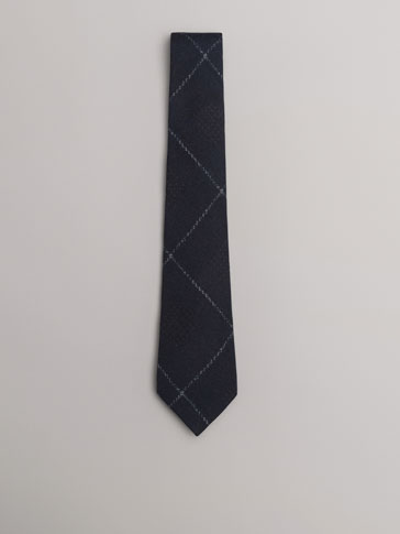 PERSONAL TAILORING CHECKED TIE