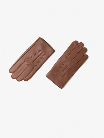 TWO-TONE LEATHER GLOVE