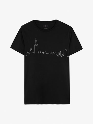 T-SHIRT SKYLINE LONDON SOFT