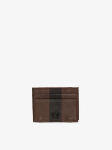 TWO-TONE LEATHER MAGIC WALLET