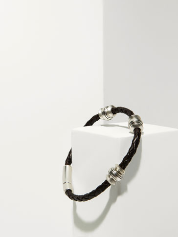 TUBULAR BRACELET WITH ADORNMENTS