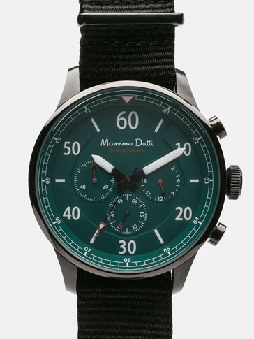 SOFT CHRONO WATCH