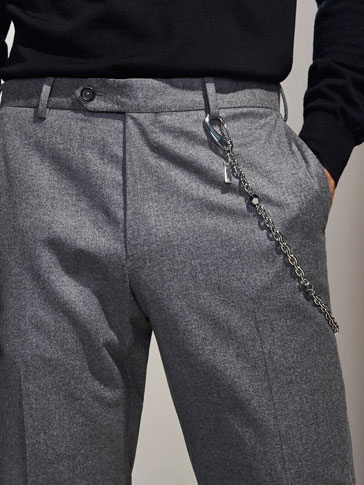 PERSONAL TAILORING DODECAHEDRON TROUSER CHAIN