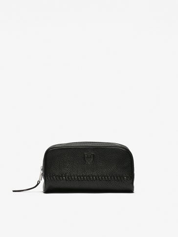 BLACK MONTANA TOILETRY BAG