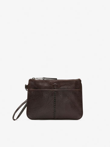 BROWN MONTANA CLUTCH