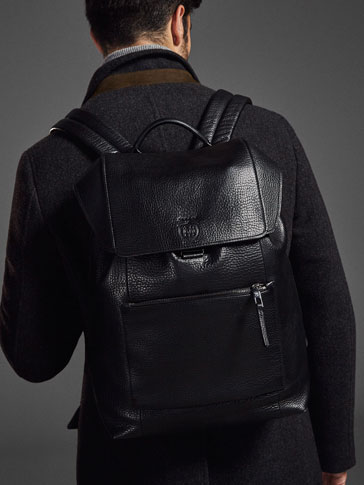 LIMITED EDITION LEATHER BACKPACK