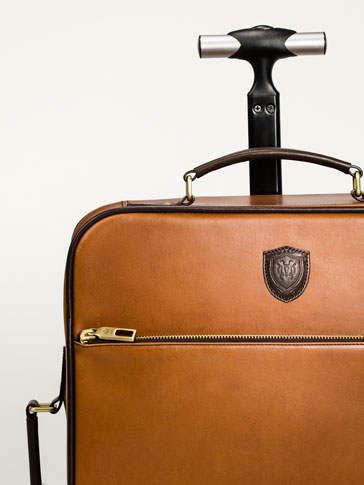LIMITED EDITION LEATHER TROLLEY CASE