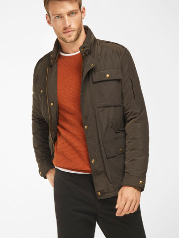 BROWN TECHNICAL PARKA