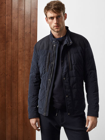 LIMITED EDITION NAVY BLUE TECHNICAL PARKA