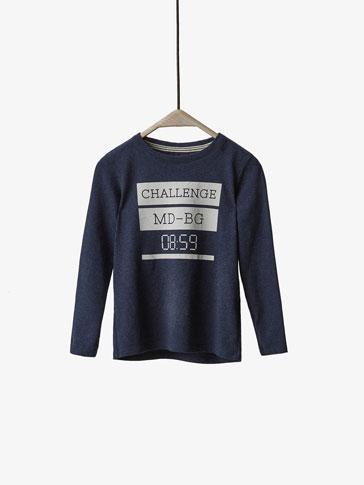 CHALLENGE DETAIL T-SHIRT