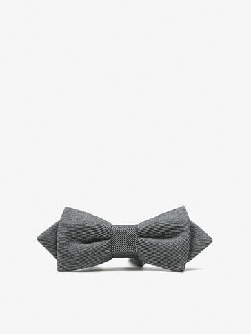 FALSE PLAIN BOW TIE