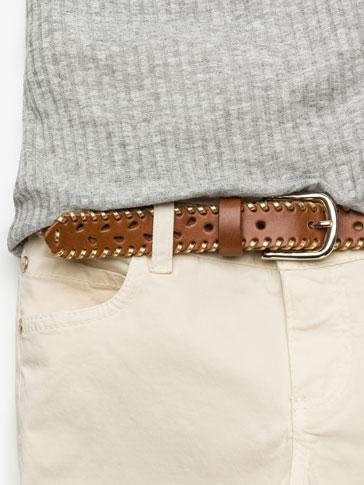 حزام بجزئية التذهيب
