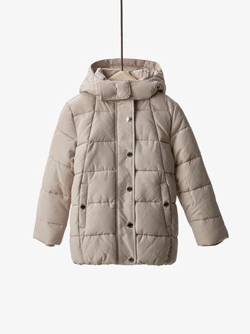 BASIC QUILTED PARKA
