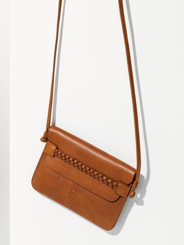BRAIDED CLUTCH BAG