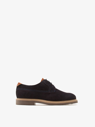 NAVY BLUE BLUCHERS