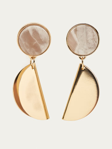 FOLDED PIECE EARRINGS