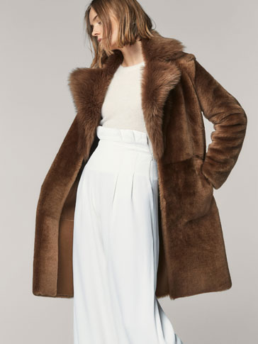 LIMITED EDITION LAMBSKIN FUR COAT