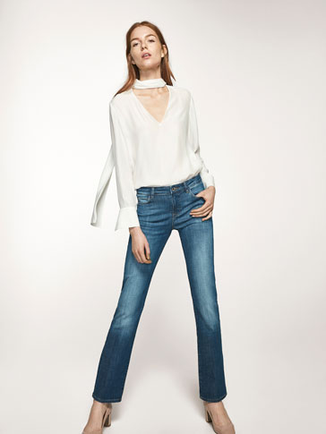 PANTALON EN JEAN BASIC REGULAR FIT