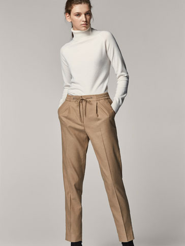 JOGGING TROUSERS WITH BOW DETAIL