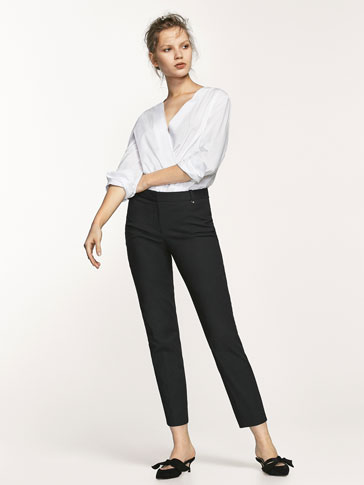 SIDE DETAIL TROUSERS