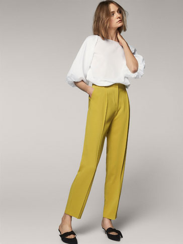 FLOWING TROUSERS WITH DARTS