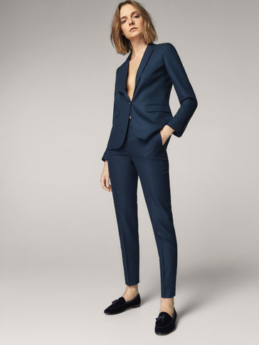 Women's Suits | Massimo Dutti Autumn Winter Collection 2017