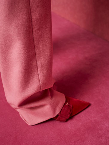 LIMITED EDITION WOOL/CASHMERE TROUSERS