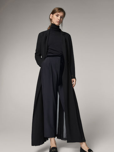 JOGGING TROUSERS WITH VELVET BELT
