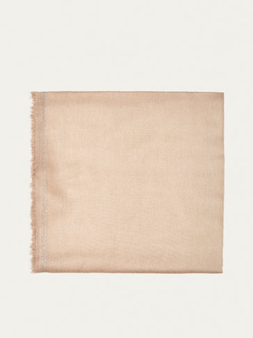 FOULARD DEGRADE LUREX BEIGE
