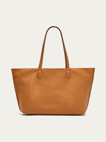 SMALL TWO-TONE TOTE