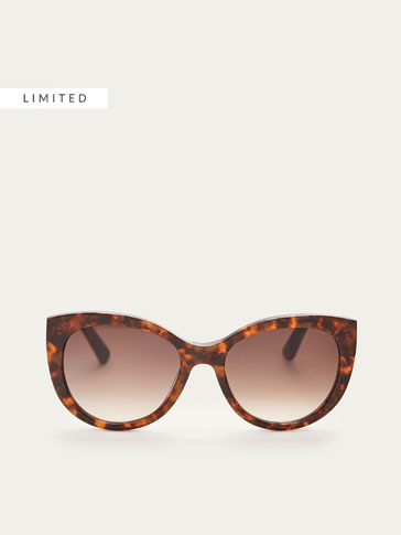 CATEYE SUNGLASSES WITH TORTOISESHELL FRAME