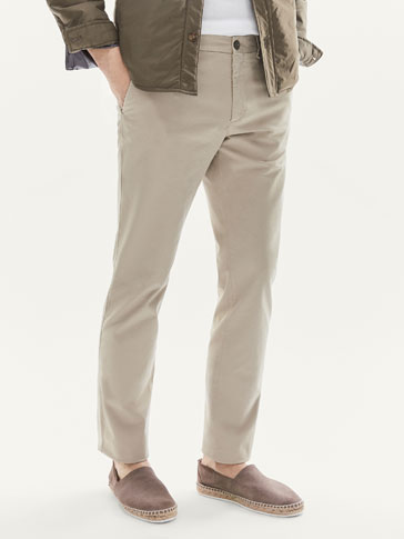 PANTALON CHINO REGULAR FIT
