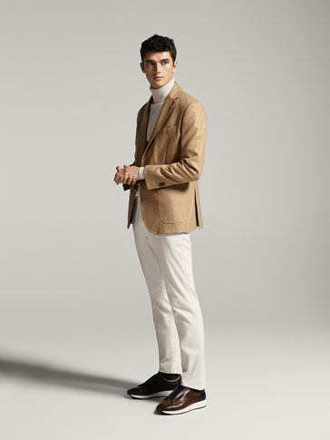 CASUAL FIT CORDUROY CHINOS
