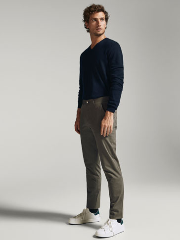 PANTALON TEJANERO BELLARDINA SLIM FIT